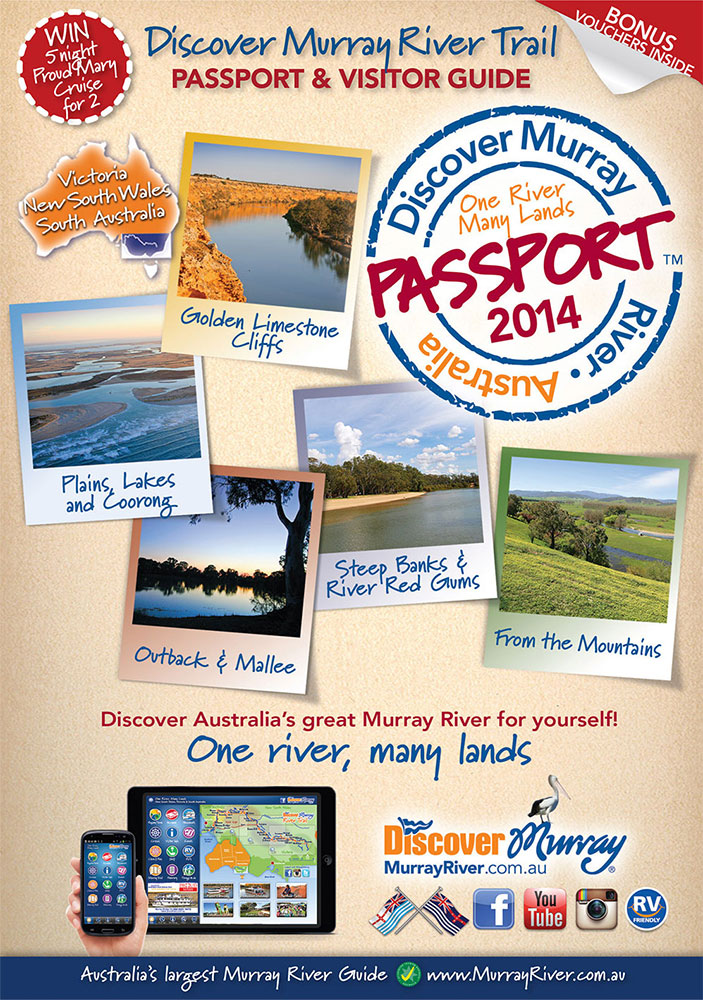 Murray River Passport Cover Guide